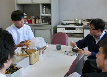 前田君&教授